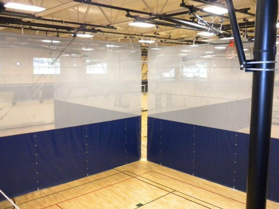 Fold Up Divider Curtain Gym Curtain Aalco Aalco