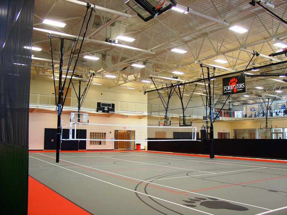 Swingline ceiling suspended for How much does it cost to build indoor basketball court