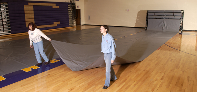 Gym floor covers aalco
