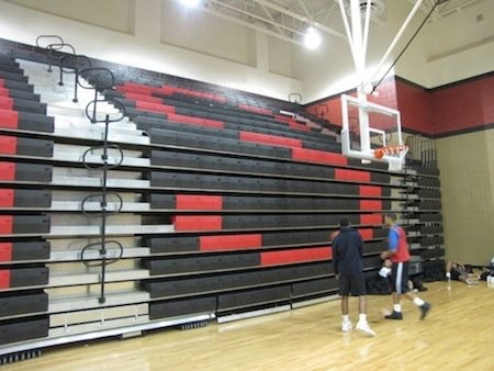 Gymnasium Bleachers Indoor Bleachers Aalco Manufacturing