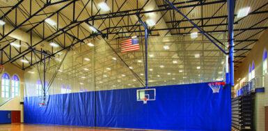 Gymnasium Curtain Gymnasium Divider Aalco Aalco